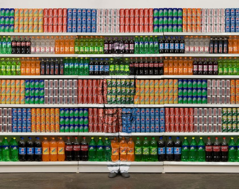 Liu Bolin TAFMAG article Supermarket 2