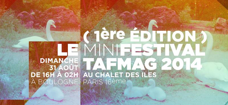 TAFMAG Festival Chalet des iles