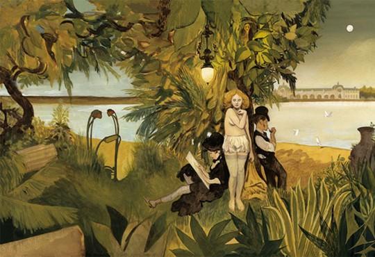PORTRAIT// « Les Variations d'Orsay » : Manuele Fior ressuscite Degas et d'autres mecs impressionnistes