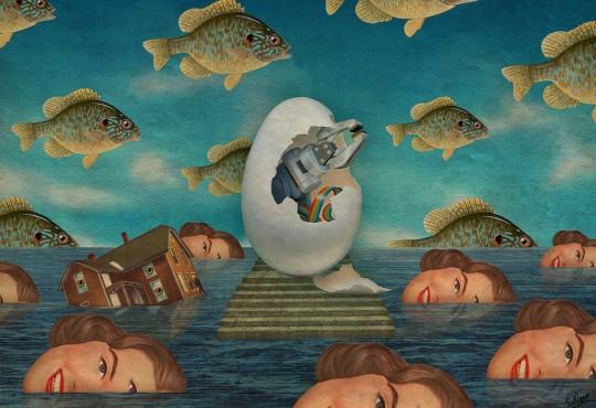 Albane Simon, The Surreal Collagist #2