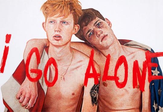 """EXPO // L'artiste The Kid présente """"I go alone"""". Portrait d'une nouvelle jeune génération perdue"""