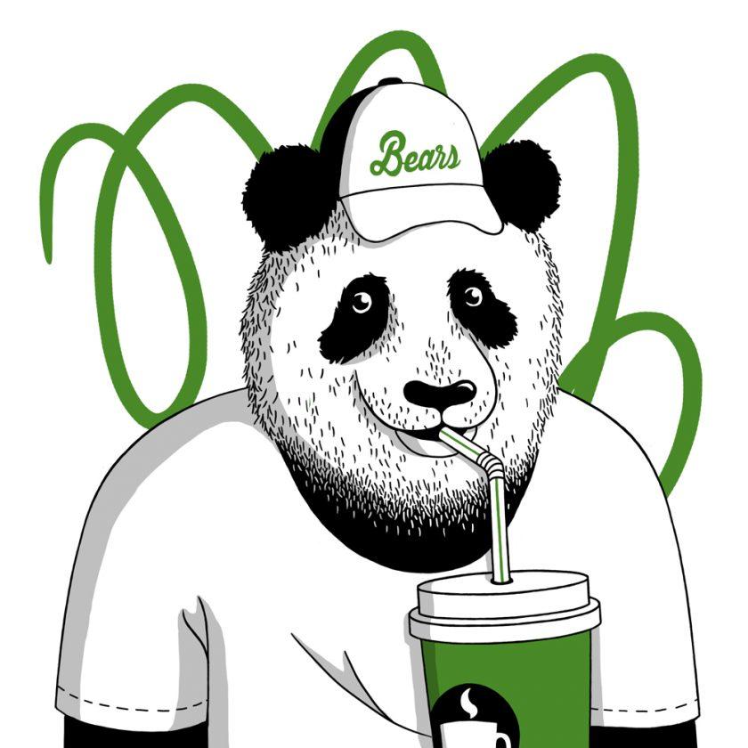 louis-cesar-artwork-tafmag-dessin-illustration- panda-paille