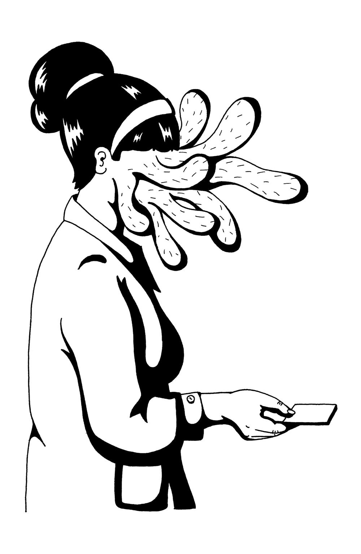louis-cesar-artwork-tafmag-dessin-illustration- secretaire