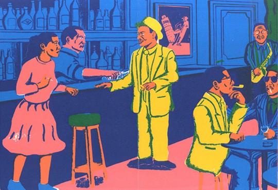 ILLUSTRATION // Gaurab Thakali, de Katmandou au jazz new-yorkais des années 1930