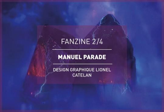 EXTRAIT // 4 planches en exclusivité du fanzine Manuel Parade à paraître !