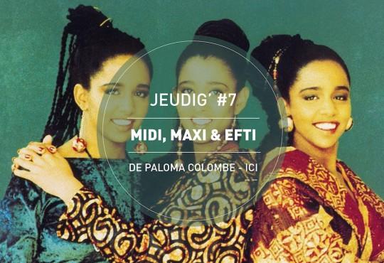 JEUDIG' #7 // 'Midi, Maxi & Efti' (Sunrise Records, 1991)