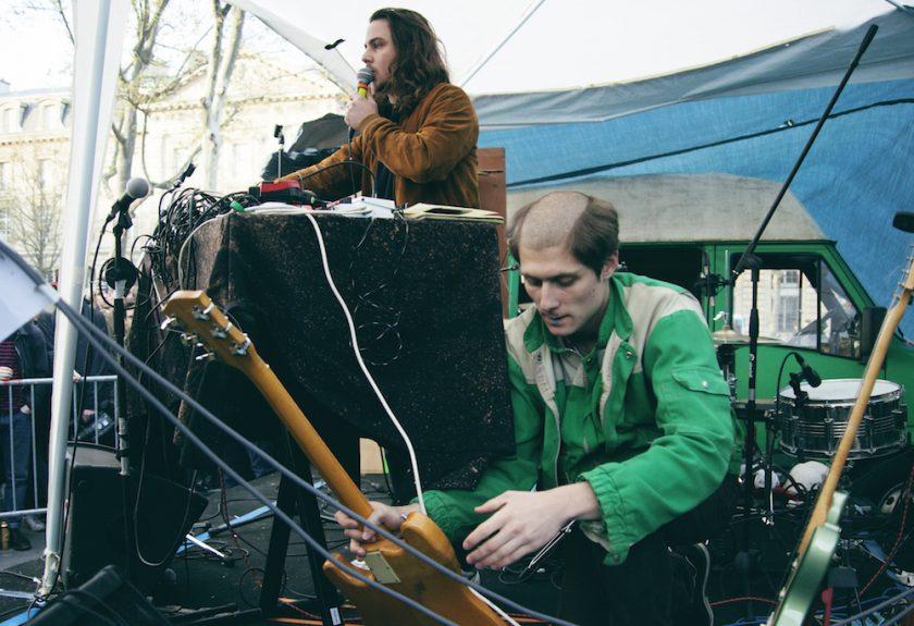 Flavien Berger & Jacques au 46 mars © Julie Oona