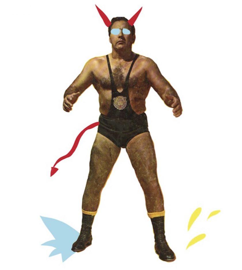 Lucha Lucile birba tafmag jaune cochon 3