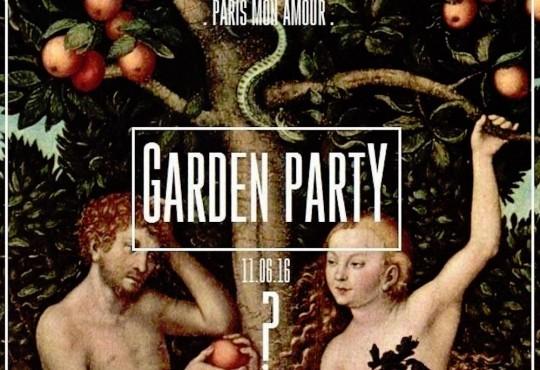 [11/6] On se retrouve à l'Opening de la Garden Party Paris Mon Amour  !