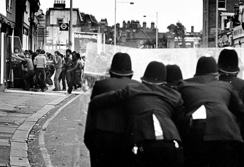 Brixton 81 Looting BW
