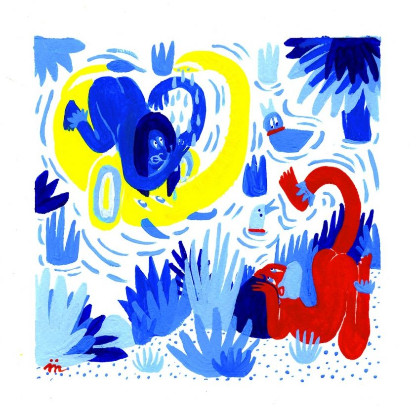 maelle foix dessin du lindu illustration tafmag 2