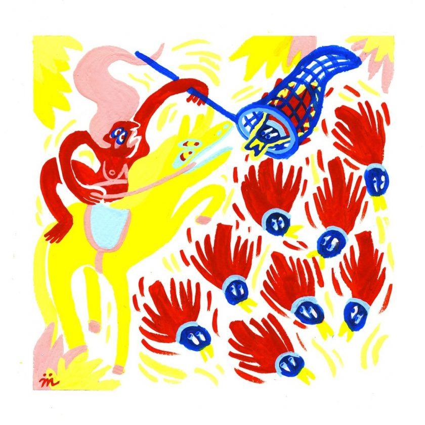 maelle foix dessin du lindu illustration tafmag 4