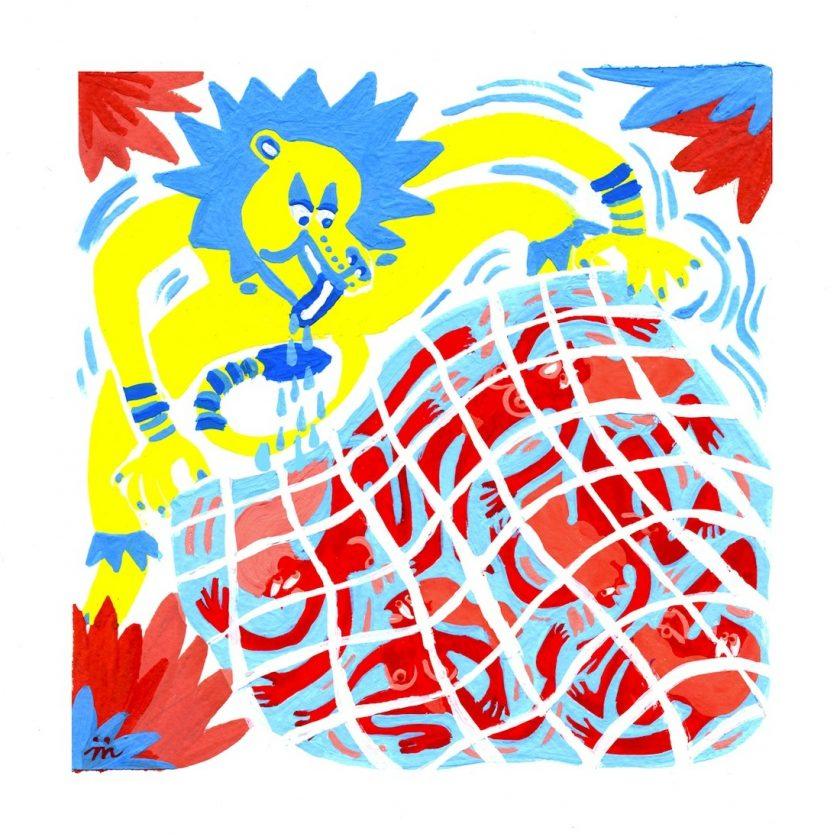 maelle foix dessin du lindu illustration tafmag 5