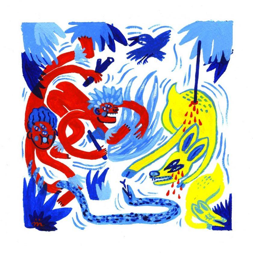 maelle foix dessin du lindu illustration tafmag
