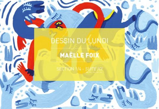 DESSIN DU LUNDI // En septembre, Maëlle Foix dessine la rentrée