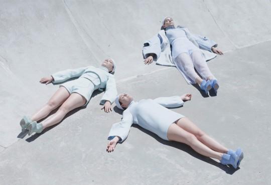 PHOTOGRAPHIE // Charline Mignot, photographie sur des airs pastel
