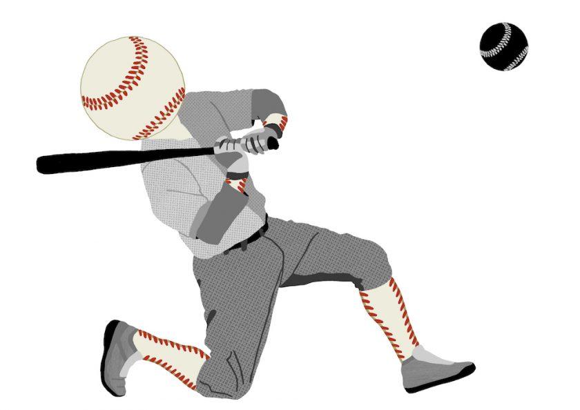 2.baseball playing baseball