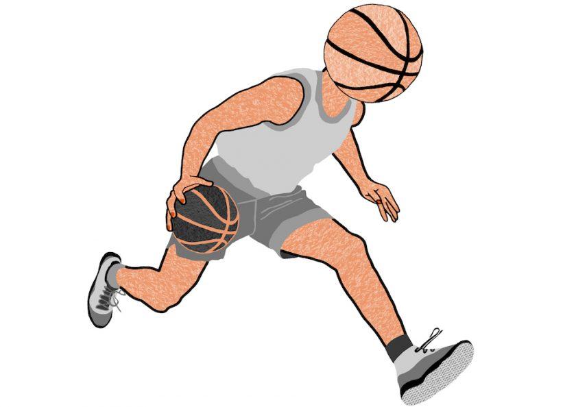 3.basketball playing basketball
