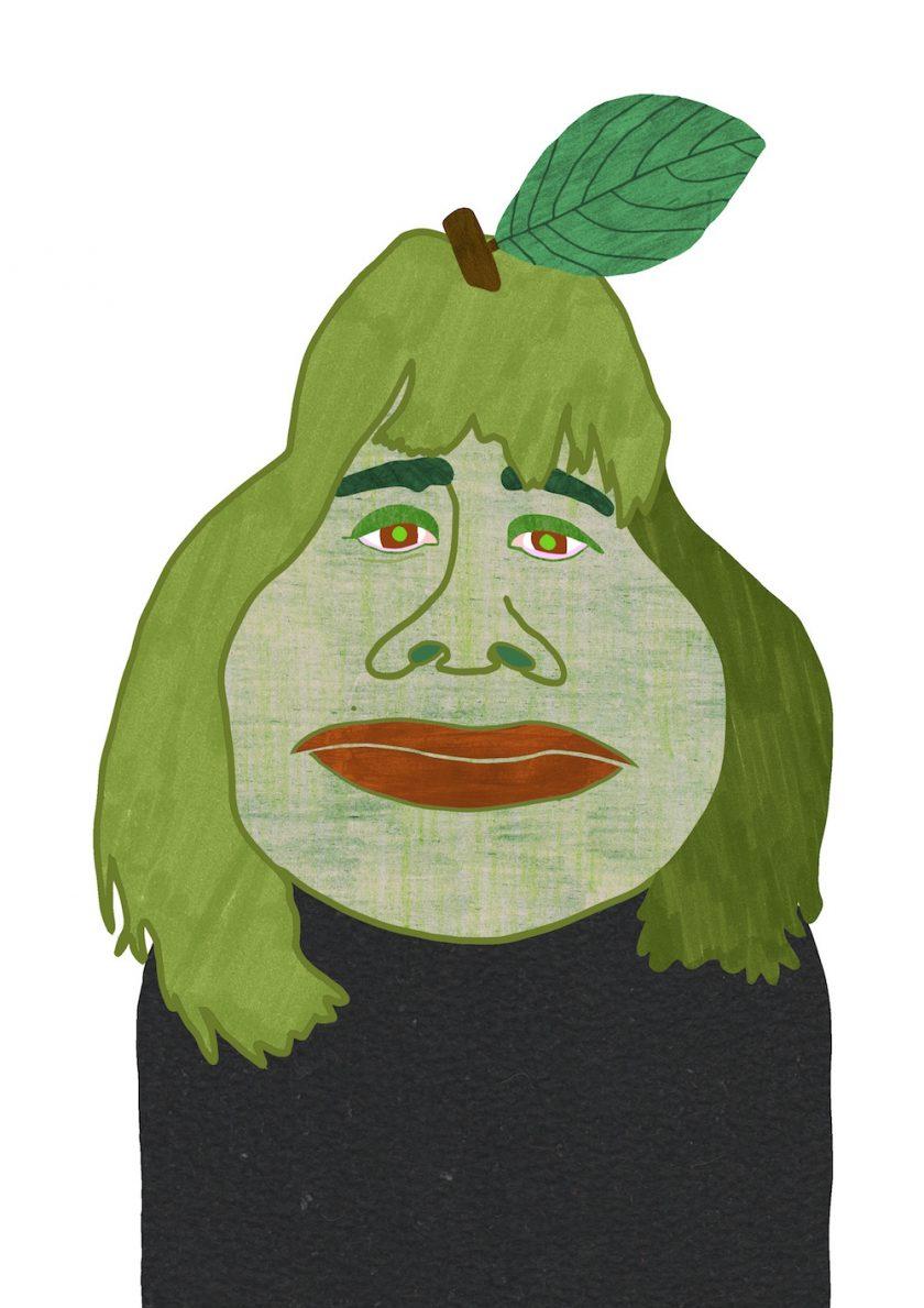 ellis van der does tafmag illustration  4.Pear