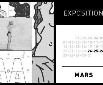 476 – IMAGES IMPRIMÉES, EXPOSITION @ LE LAPTOP