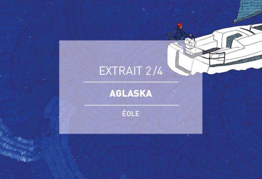 EXTRAIT // Le titre 'Pondikonissi' d'Aglaska passé par la plume de Kateel et le crayon de Léopoldine