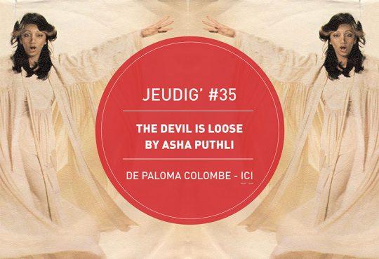 JEUDIG' #35 // Asha Puthli, visionnaire indo-disco