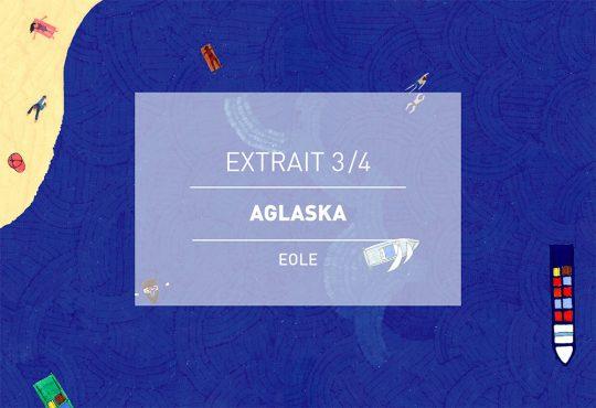 EXTRAIT // Le titre 'Kawasaki' d'Aglaska passé par la plume de Kateel et le crayon de Léopoldine