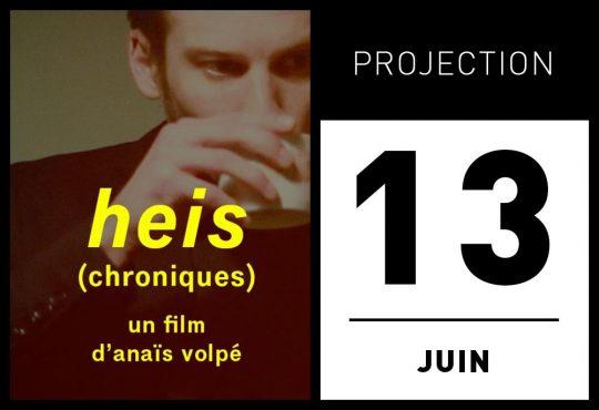 PROJECTION/DÉBAT «HEIS (CHRONIQUES)» @ LUMINOR
