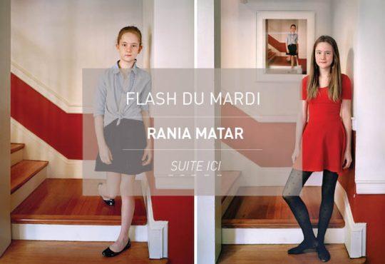 FLASH DU MARDI // Les jeunes chrysalides de Rania Matar