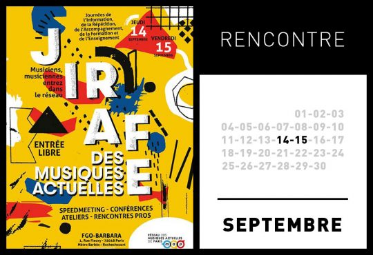 JIRAFE DES MUSIQUES ACTUELLES @ FGO-BARBARA