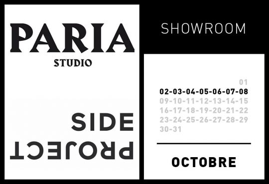 SHOWROOM PARIA STUDIO ET SIDE PROJECT @ PARIS 9