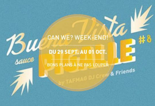 CAN WE? WEEK-END! // Welcome to October Festivities