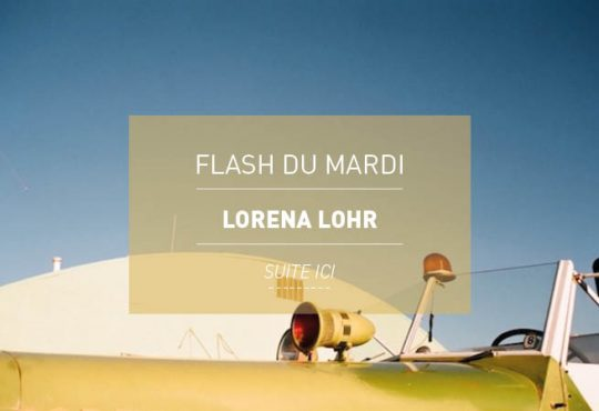 FLASH DU MARDI // Lorena Lohr présente 'Ocean Sands'