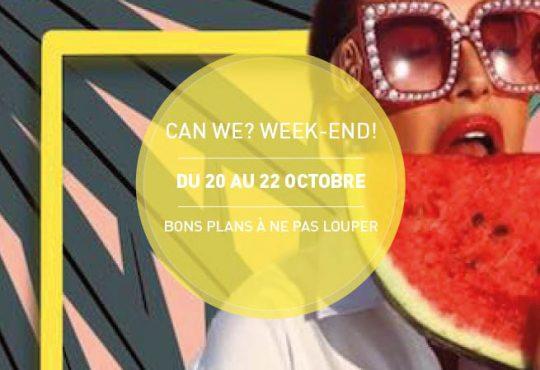 CAN WE? WEEK-END! // L'art dans tous ses états