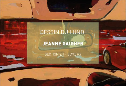 DESSIN DU LUNDI // Jeanne Gaigher : courses-poursuites à Cape Town