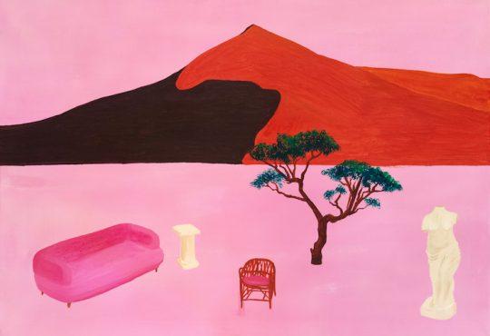 ARTS // JOSEPHINE BUTCHER : LE ROSE QUI APAISE